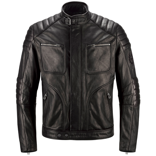 Leather Jacket RALEIGH black