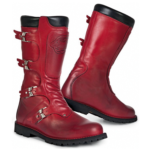 Stiefel CONTINENTAL rot