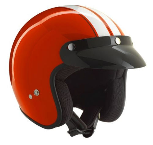 Helm CLASSIC rot/weiss