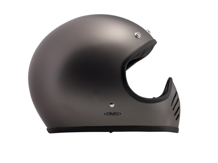 Helm SEVENTY-FIVE METALLIC grau