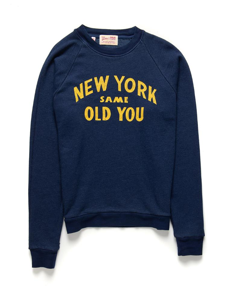 Sweater NEW YOU CREW navy