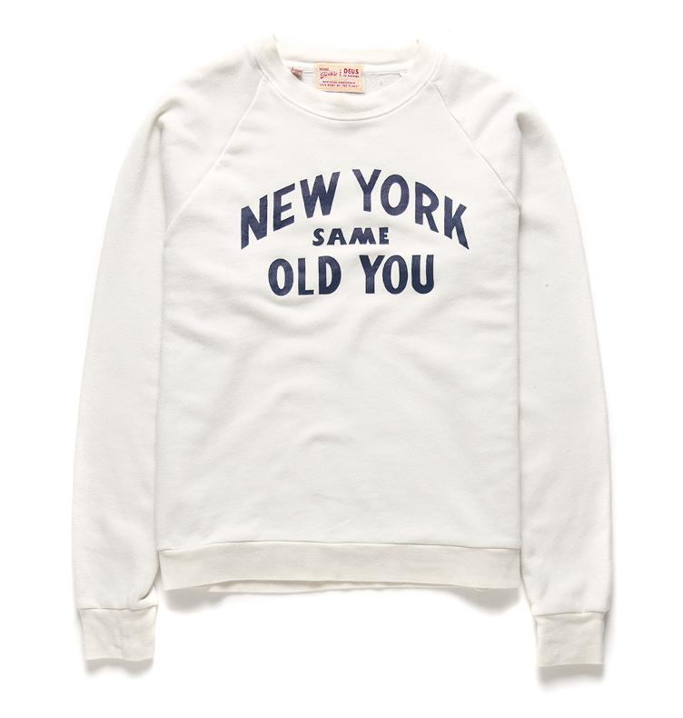 Sweater NEW YOU CREW white