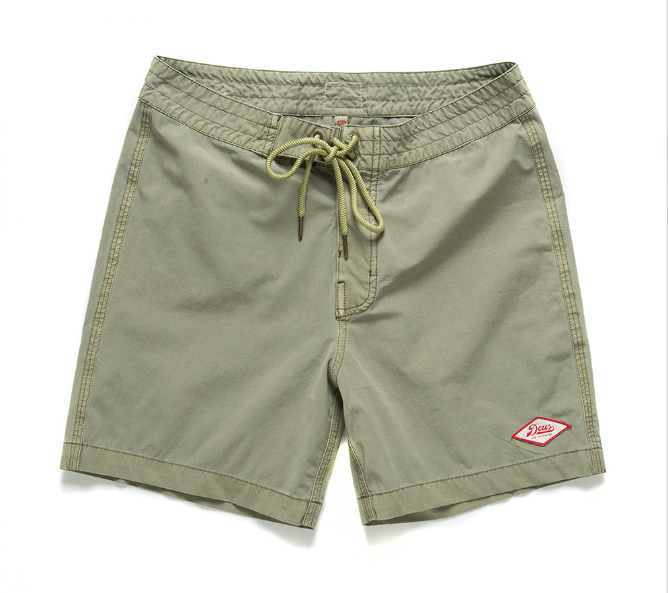 Shorts TUGU GARMENT DYE green