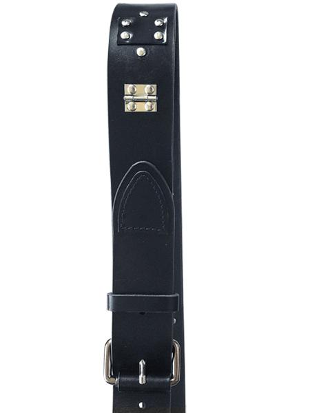 Belt CINTO N°1 black silver