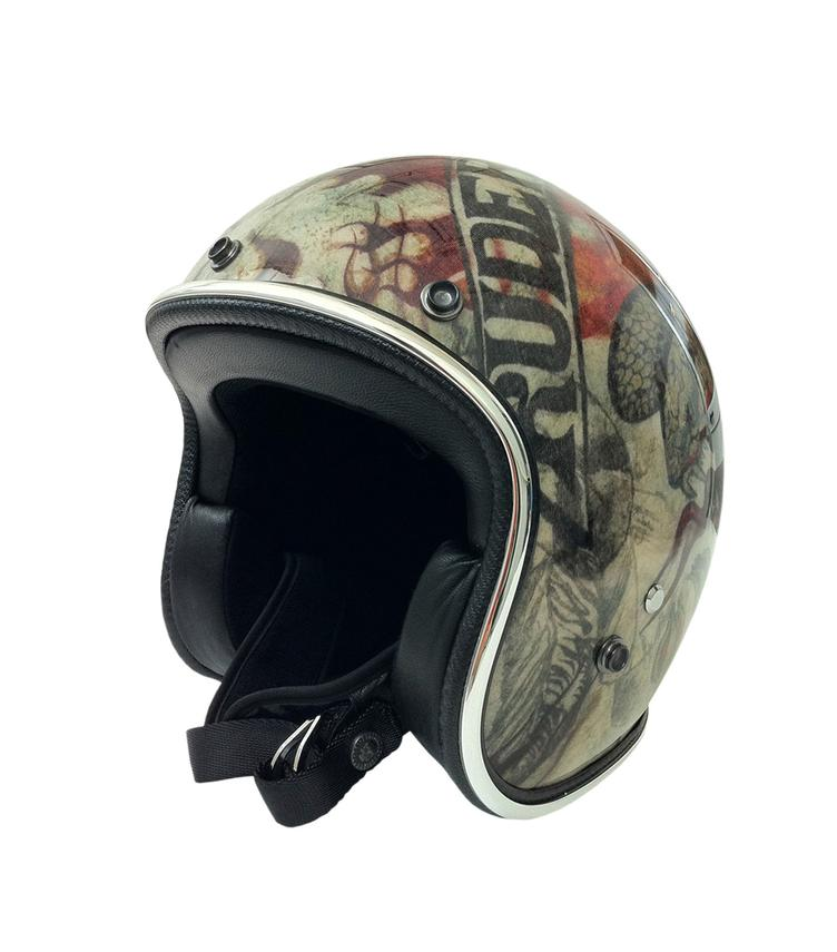 Helmet HOT ROAD SNAKE