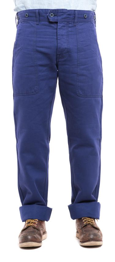 Pants indigo blue