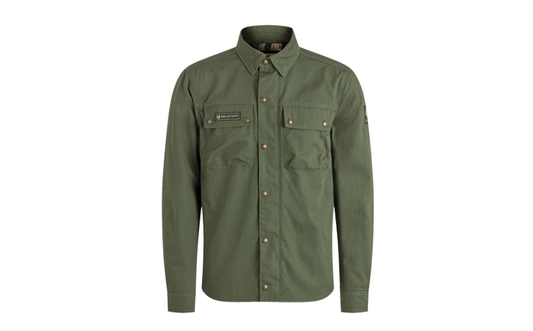 Jacke MANSION CANVAS Herren, forest green