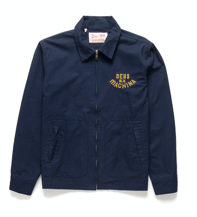 Jacket 2 DOGS blue