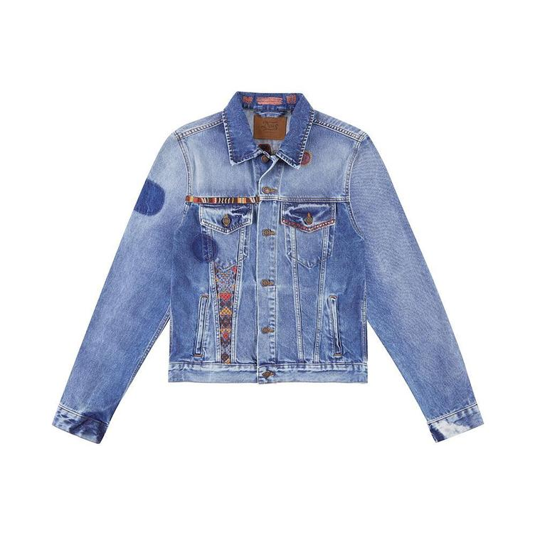 Jeansjacket DEAD HEAD RONALD