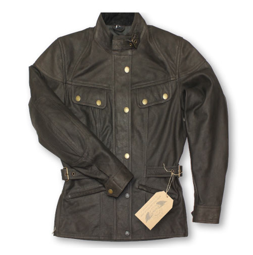 Leather Jacket PREMIUM brown