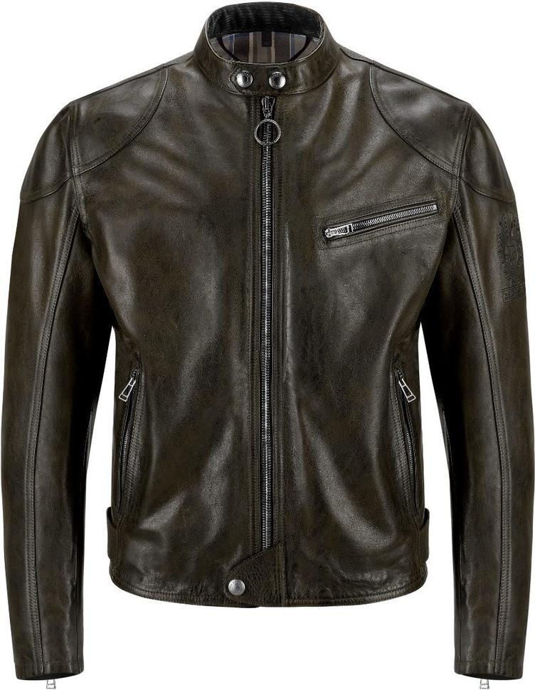 Leather jacket SUPREME antique black