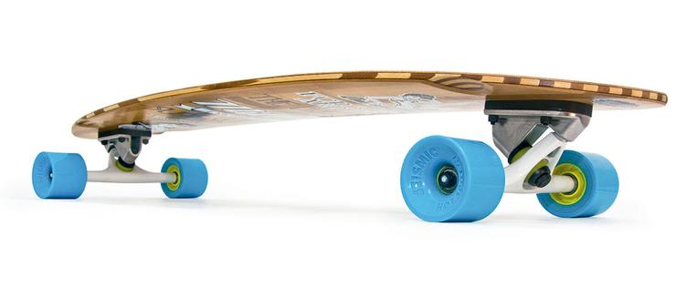 Longboard PIN UP - 1