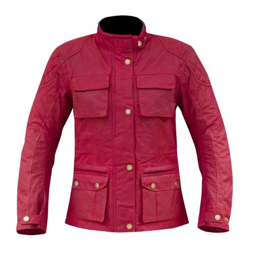Jacket WAXCOTTON BUXTON red