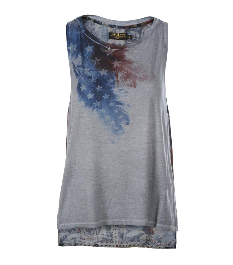 T-Shirt AMERICAN FEATHERS SLEEVELESS