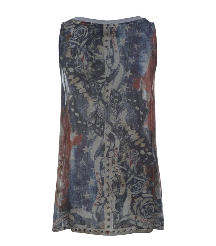 T-Shirt AMERICAN FEATHERS SLEEVELESS - 0