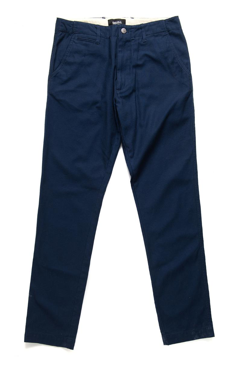 Pants BROOKS Military navy