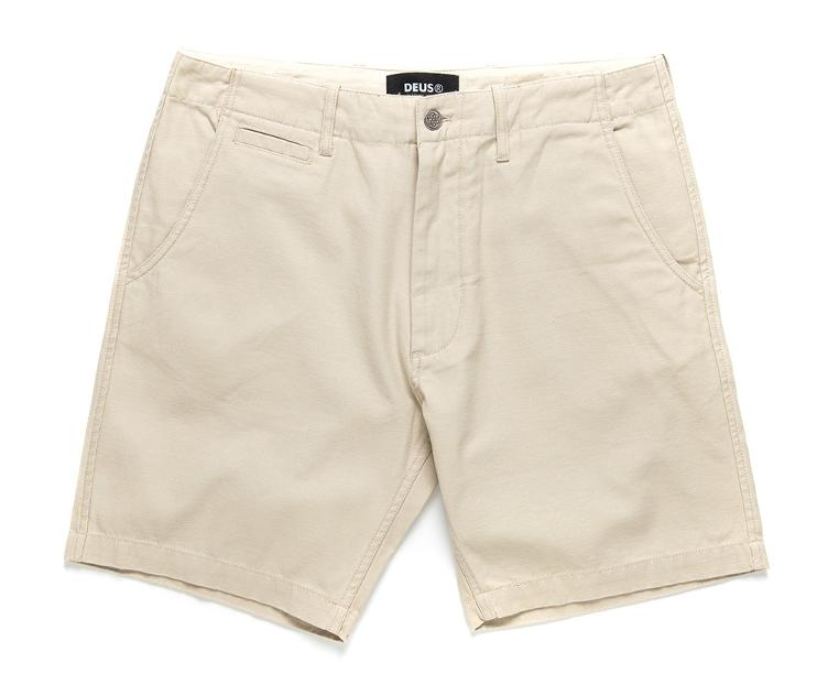 Shorts BROOKS Military beige