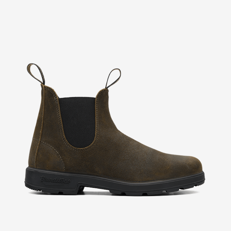 Stiefel EL SIDE BOOT olive suede
