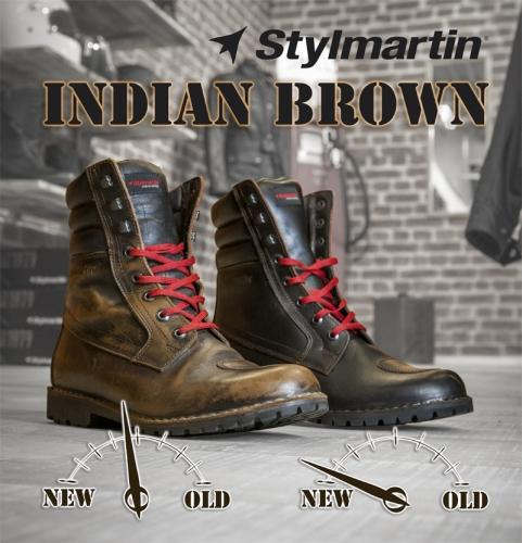 Boots INDIAN YU`ROK brown