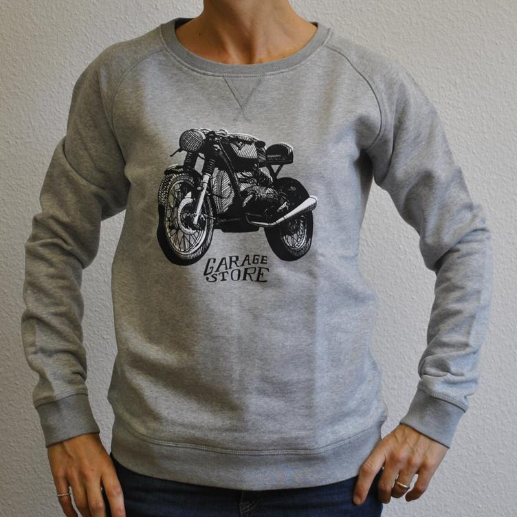 Sweater GARAGE & STORE light grey