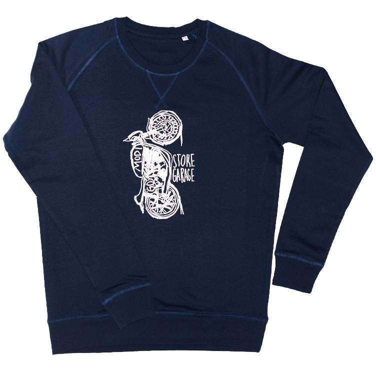 Sweater MODI MOTO navy