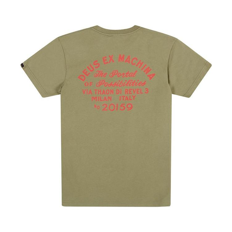 T-Shirt POSSIBILITIES olive - 0