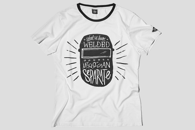 T-Shirt WELDER white