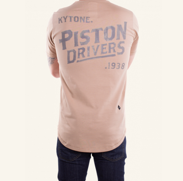 T-Shirt PISTON SABLE weiss - 0